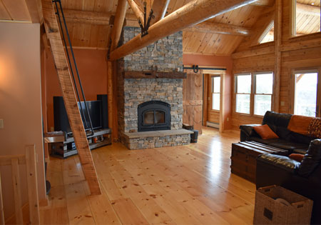 Building With Ward Cedar Log Homes - Part Three