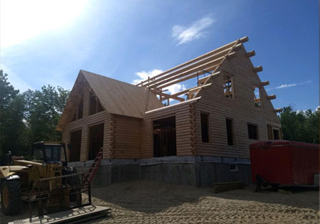 Building With Ward Cedar Log Homes