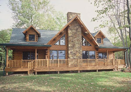 Maintaining the Exterior of Your Log Home