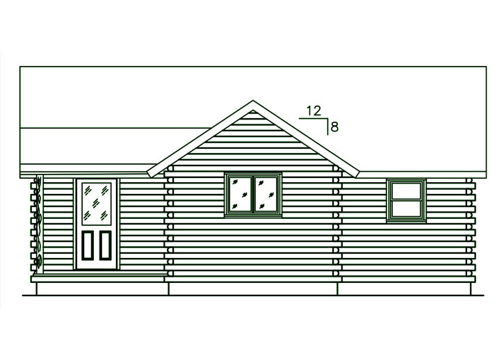 Ward Cedar Log Homes Small Log Cabin Floor Plans Log Cabin Kits