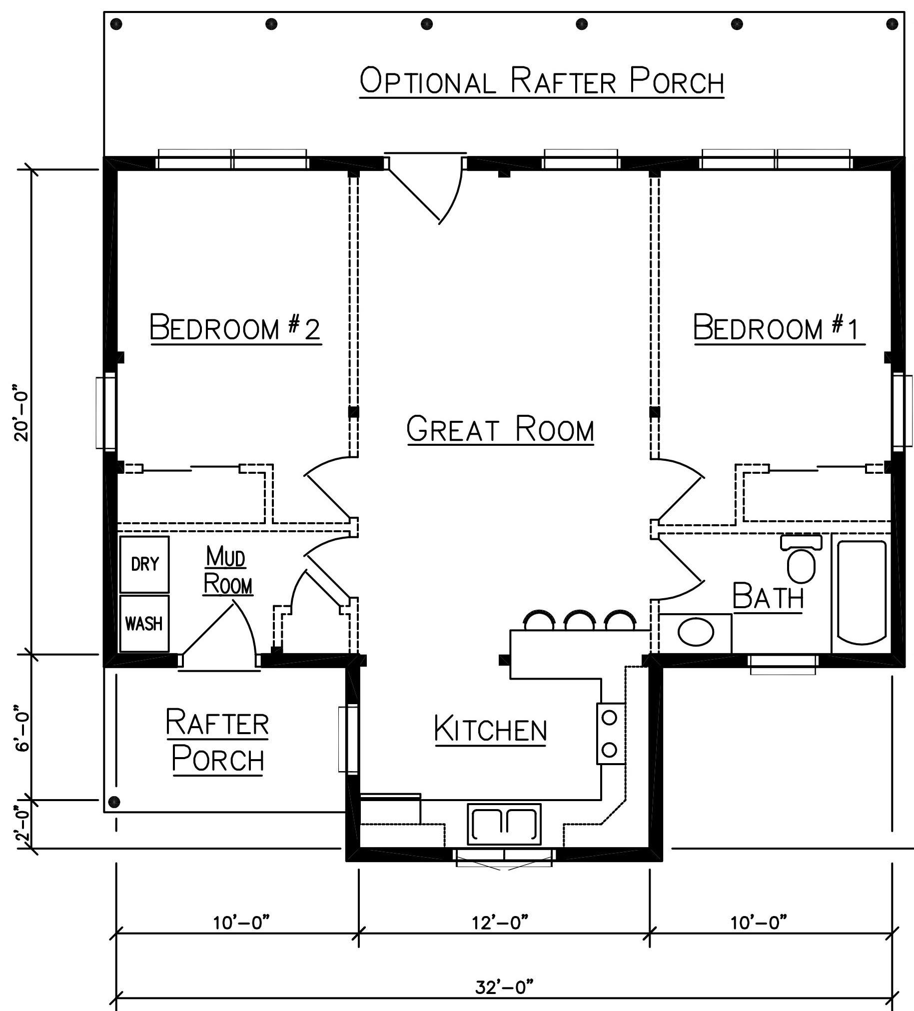 Camp sebago log cabin ward cedar log homes floor plans for Camp building plans