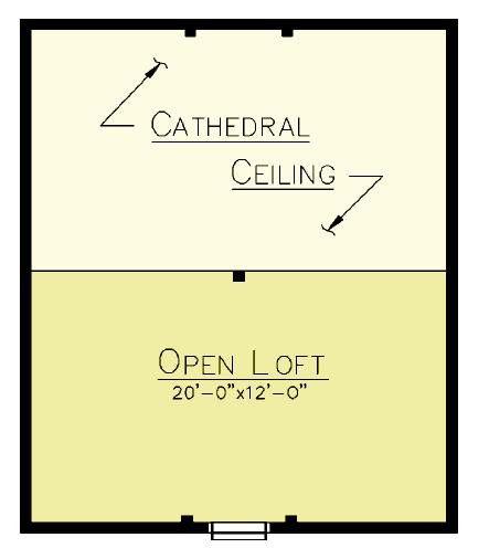 Matagamon Loft Plan