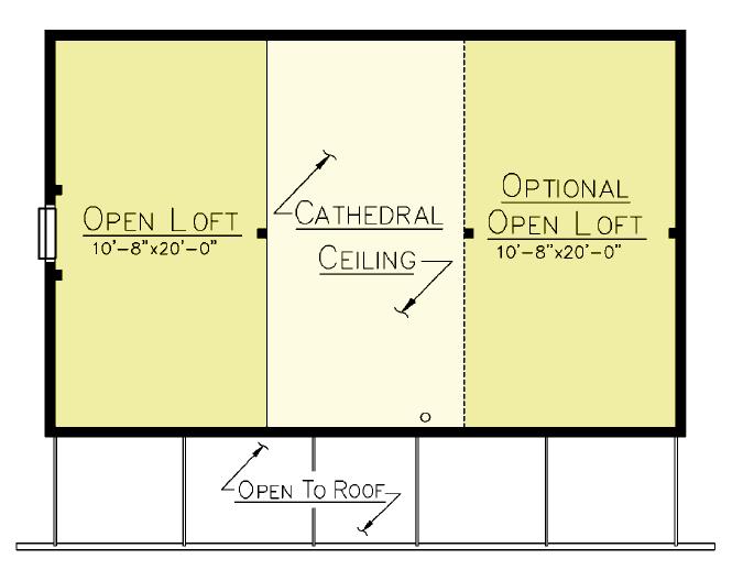 Musquash Loft Plan
