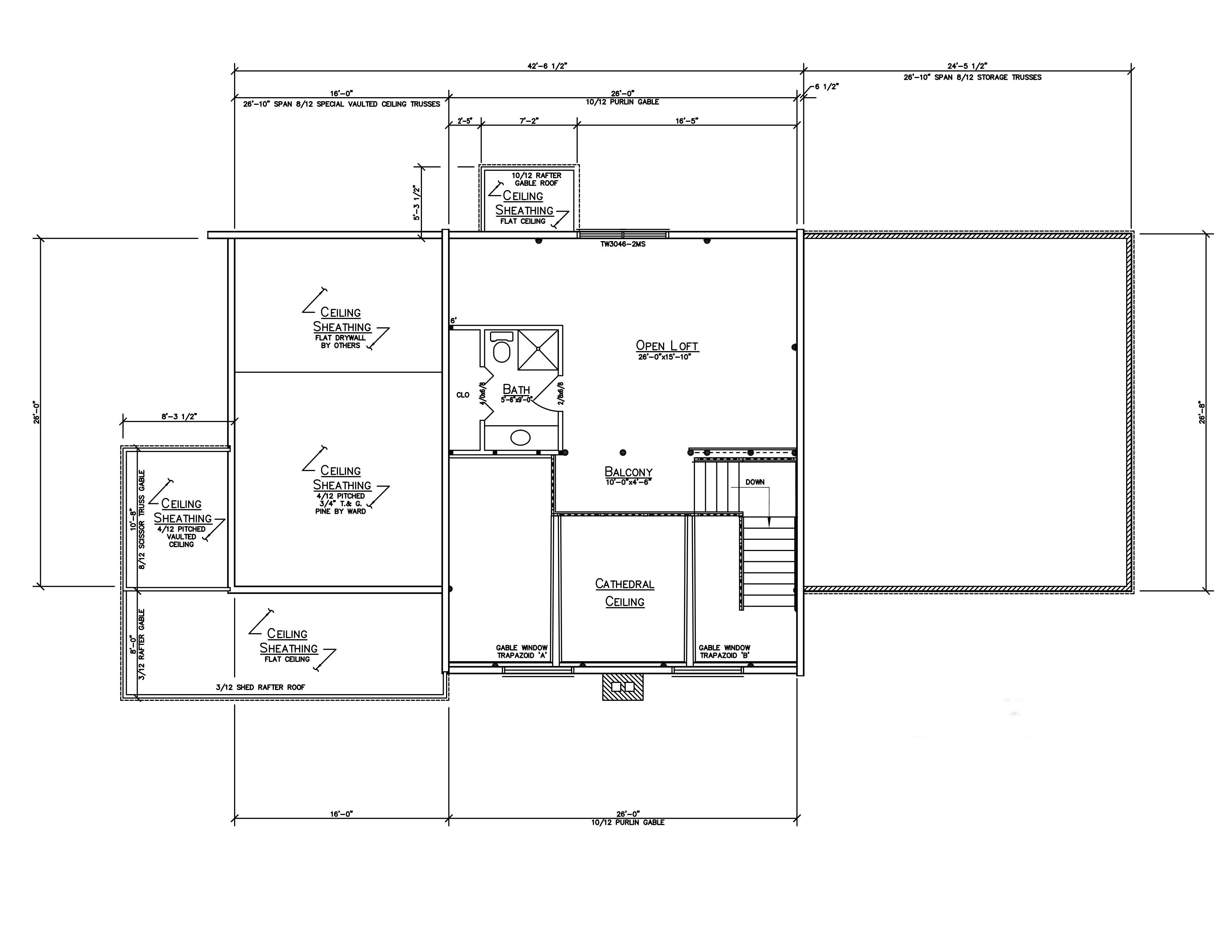 Hybrid home plans ward cedar log homes for Ron lee homes floor plans