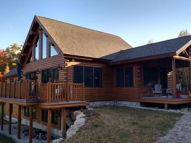 Madison log home plan ward cedar log homes floor plans for Madison home builders house plans