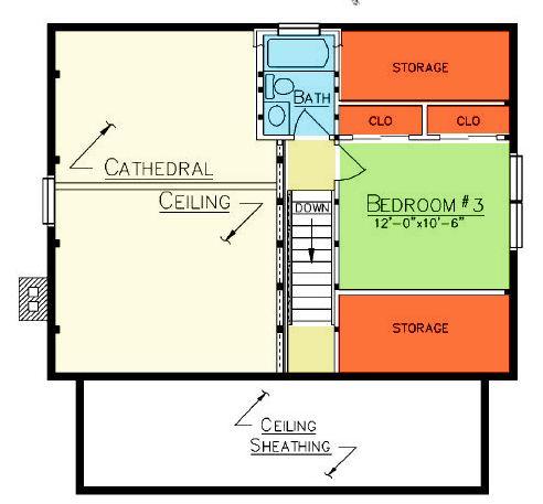 Brunswick Loft Plan