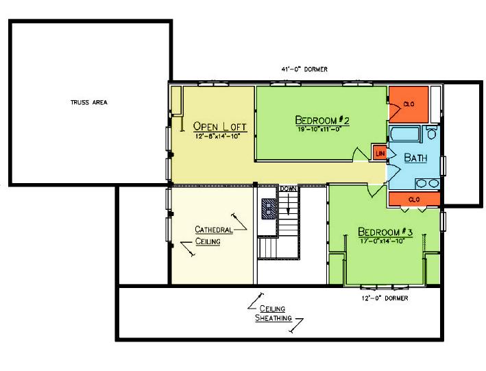 Coopersburg Loft Plan
