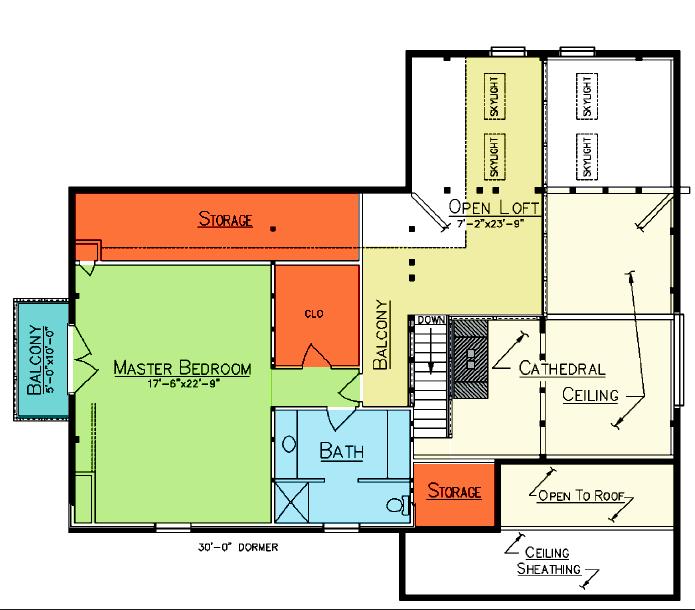 Darlington Loft Plan