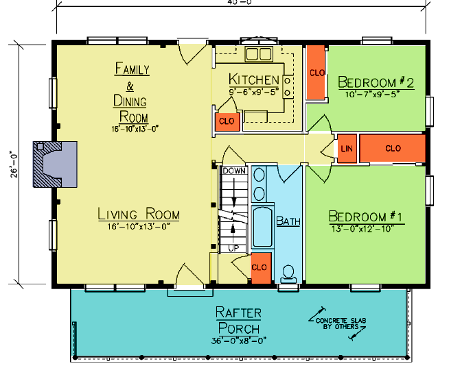 Decatur First Floor