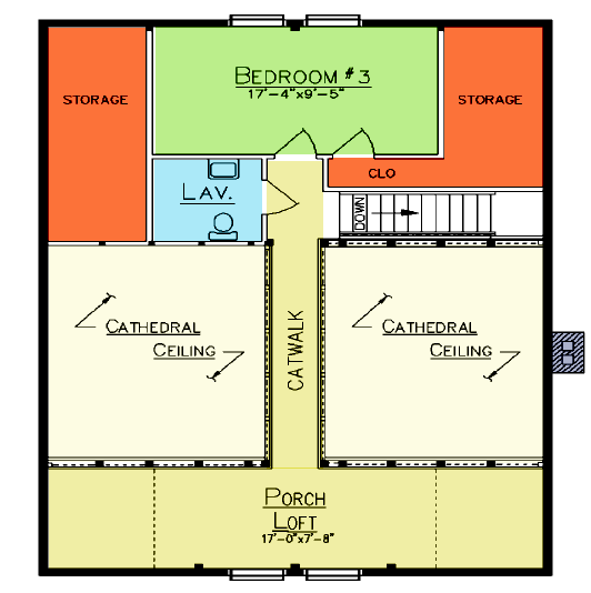 Easton Loft Plan