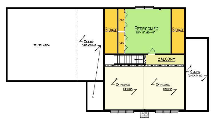 Georgetown Loft Plan