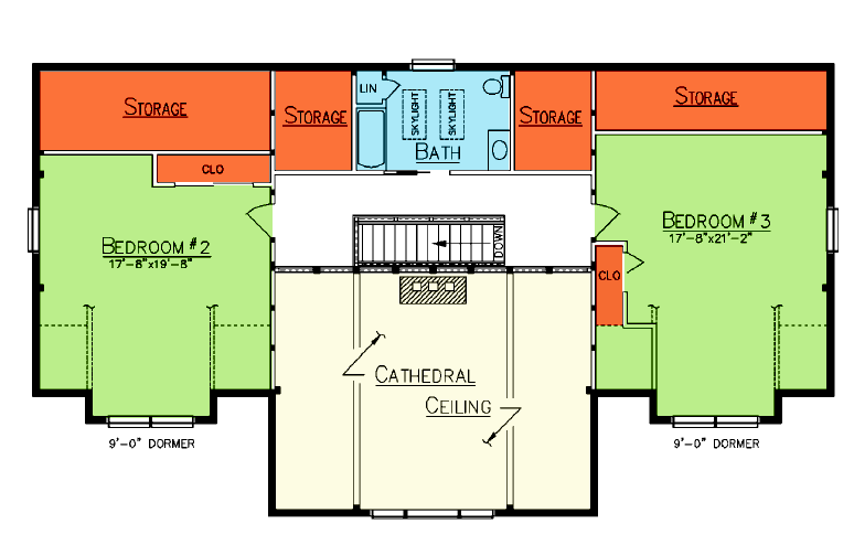 Heartwood Loft Plan