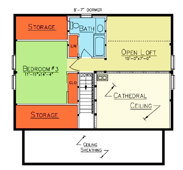 Lexington Loft Plan