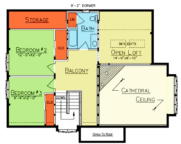 Point Judith Loft Plan