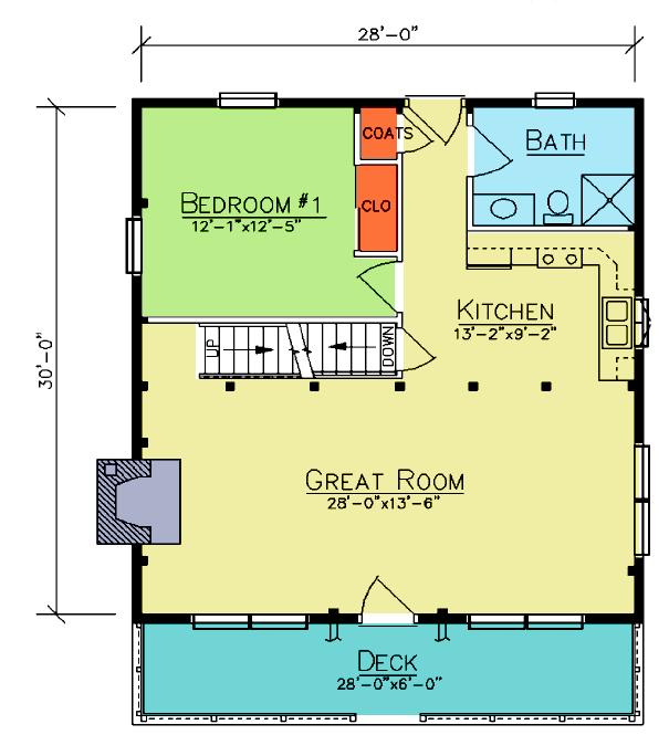 Riverton First Floor