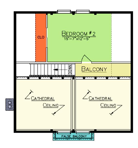 Riverton Loft Plan