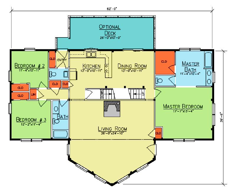 Sedona First Floor