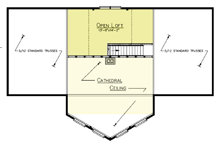 Sedona Loft Plan