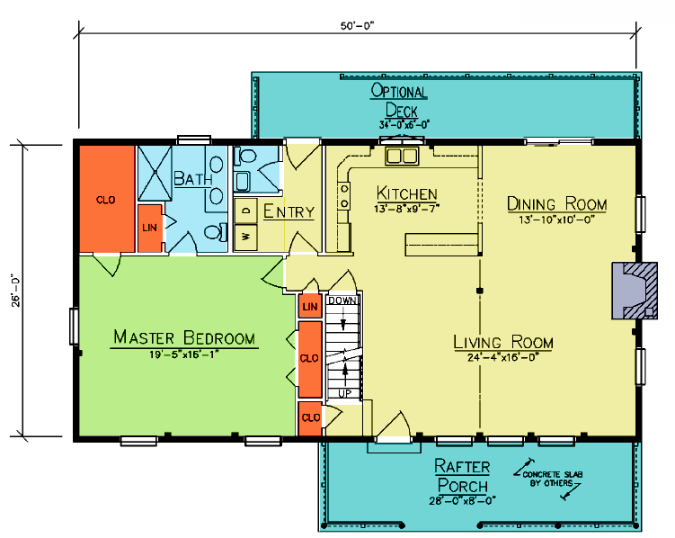 Vancouver Floor Plan Ward Cedar Log Homes Cabins And