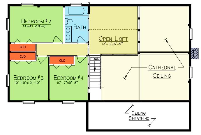 Vancouver Loft Plan