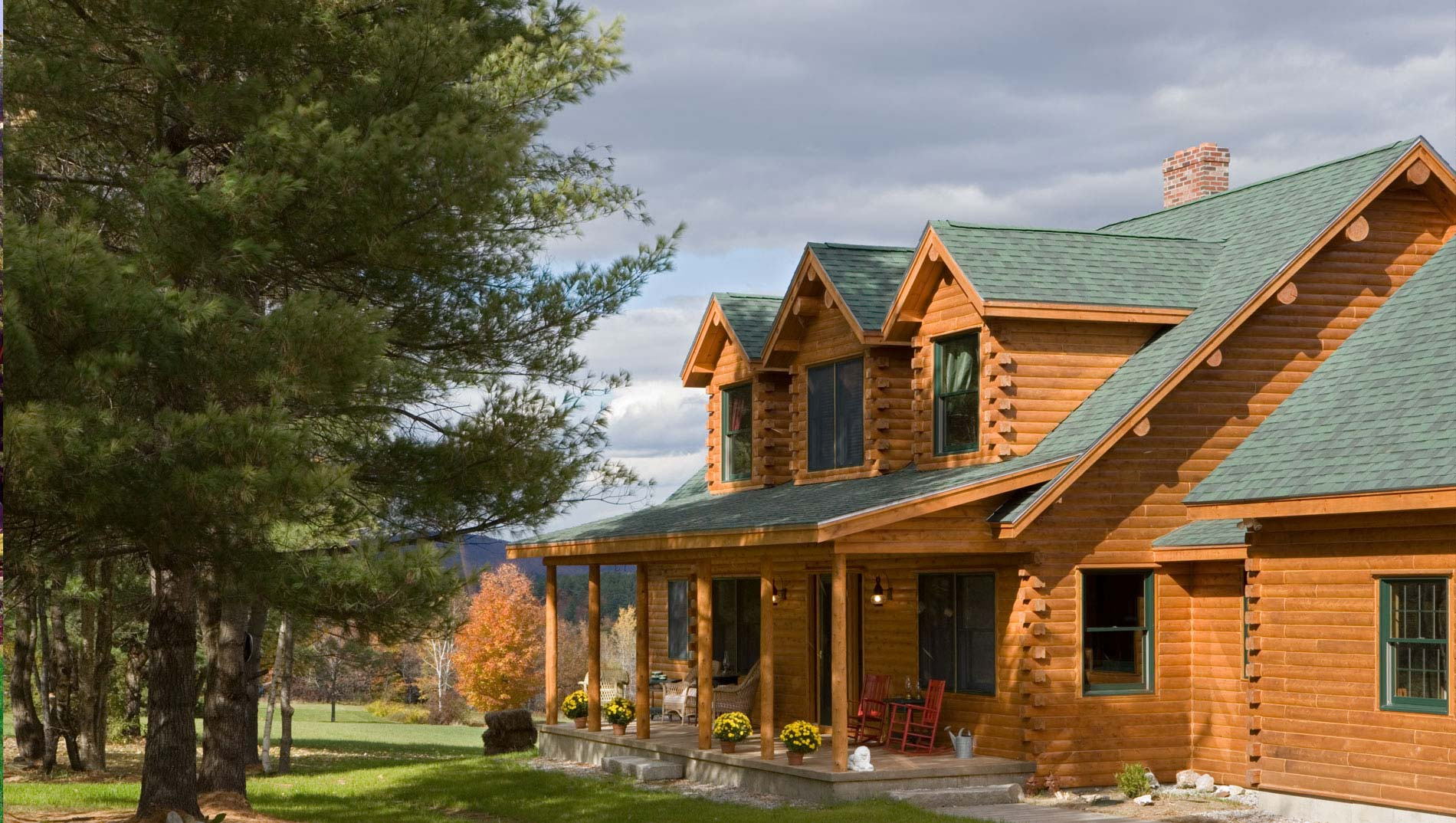 <p>A Better Log Home For Your Investment</p>