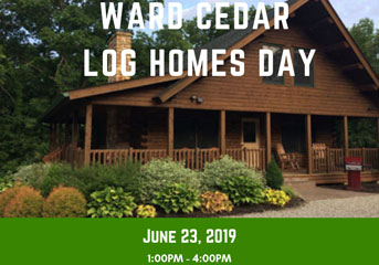 Ward Cedar Log Homes Day